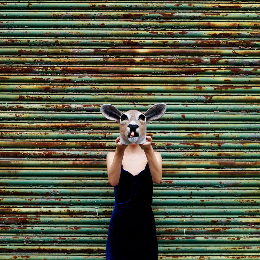 Doe mask by Gladys Paulus