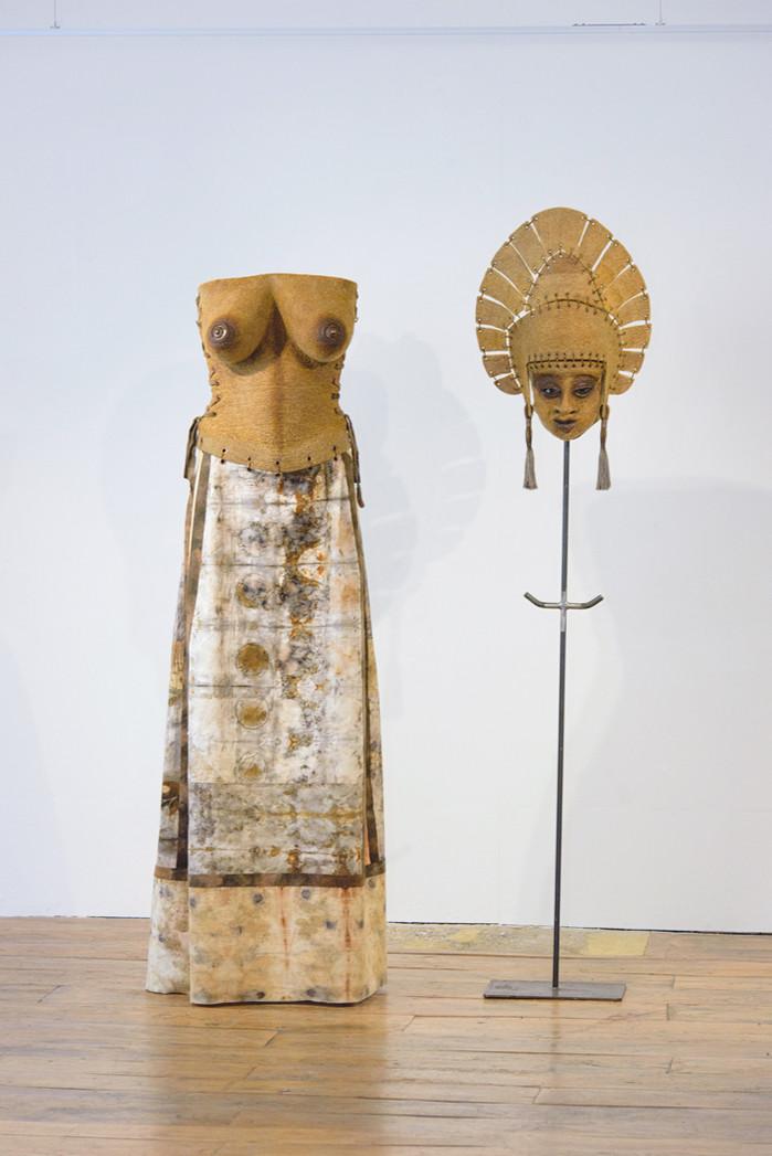 Gladys Paulus Ancestral Healing Costume for Toempek (2017)