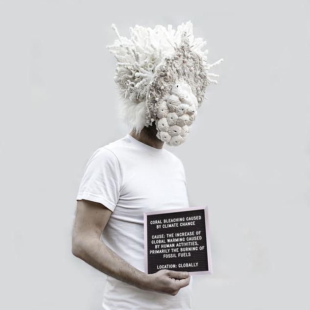 CORAL BLEACHING. Artist: Paola Idrontino, Spain (2020)