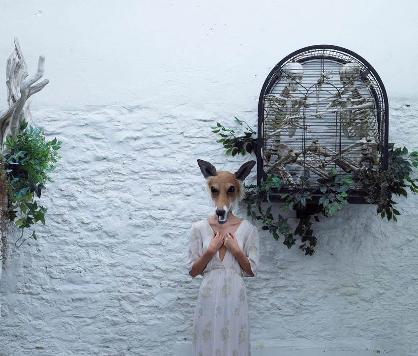 Vixen mask by Gladys Paulus