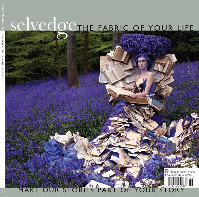 Selvedge Magazine front cover Gladys PaulusJan 2016 _
