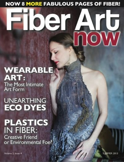 Fiber Art Now summer 2013