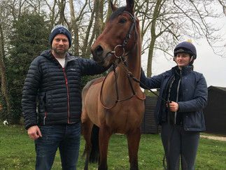 SHANTOU FILLY STEPPING UP IN HER NEW YEAR TRAINING