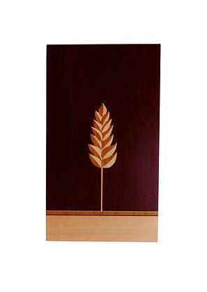 """Wheat Stalk"" Marquetry Art Panel"