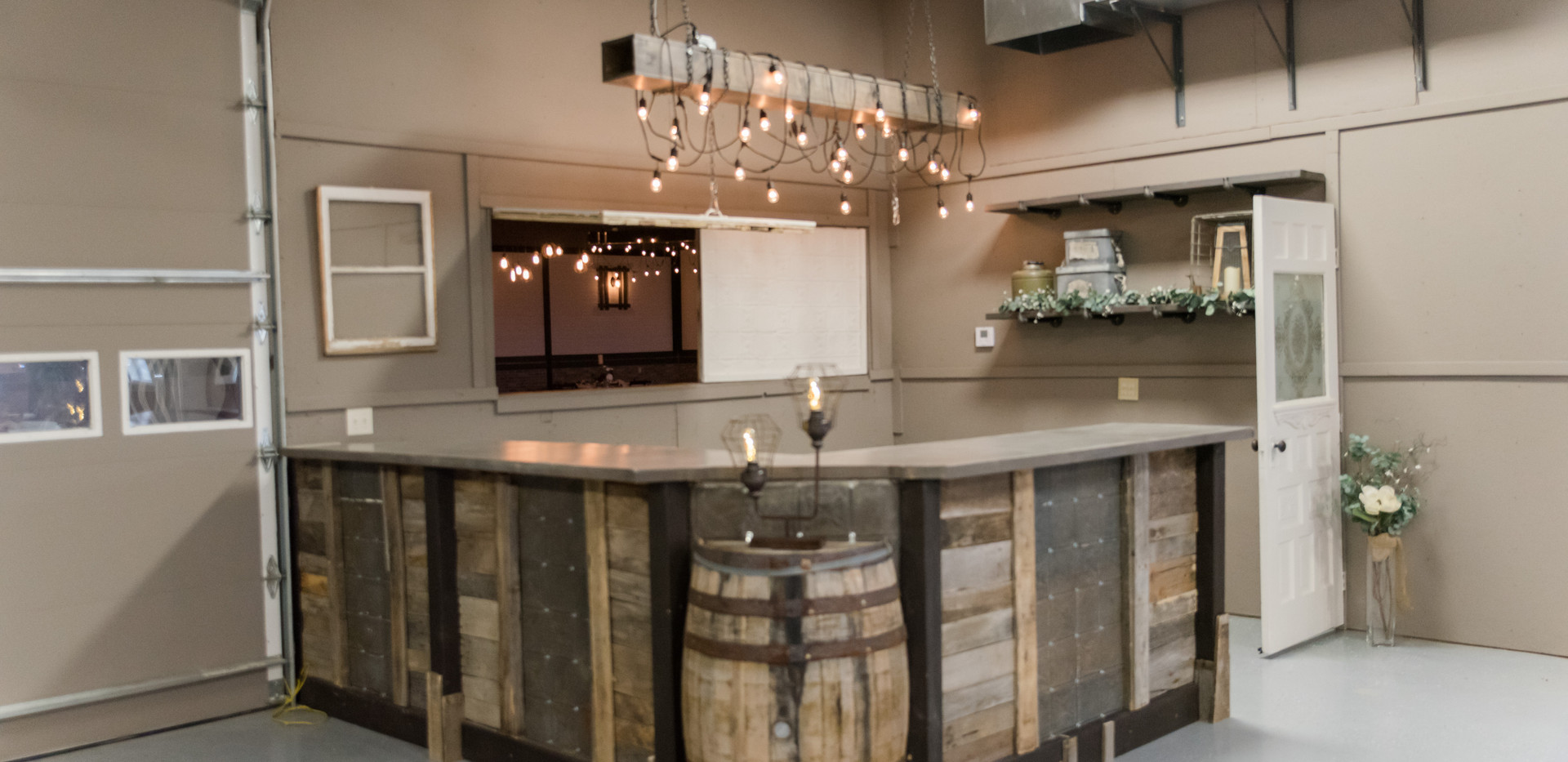 Bar opens into the Big Shanty