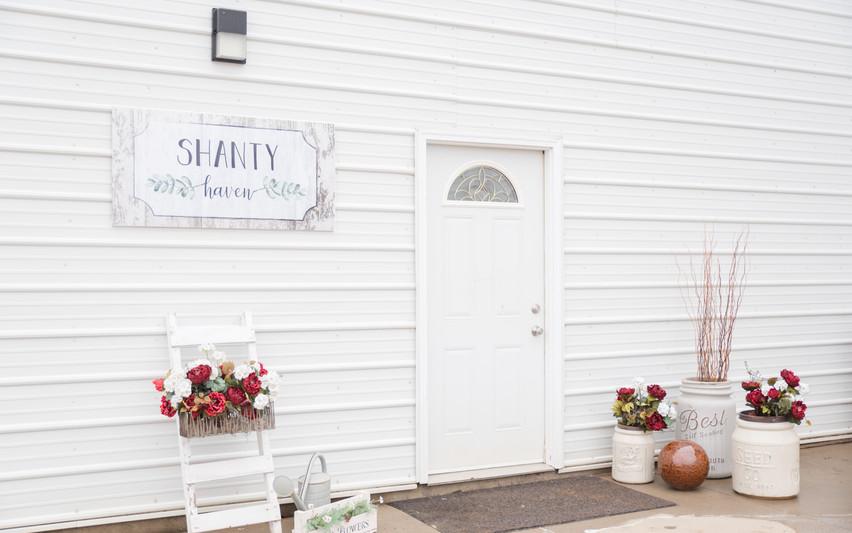 Shanty Haven entrance