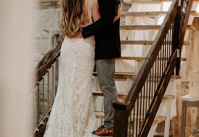 Picturesque stairway