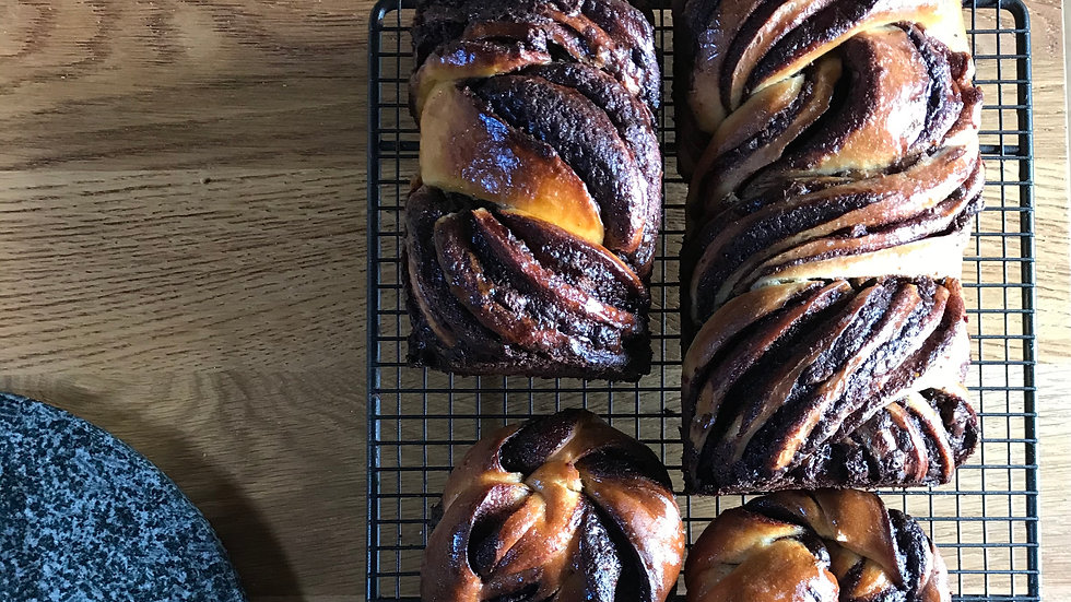 Chocolate Babka Loaf