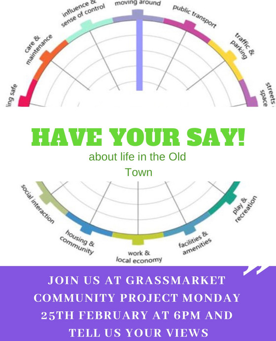 Have your say about life in the Old Town