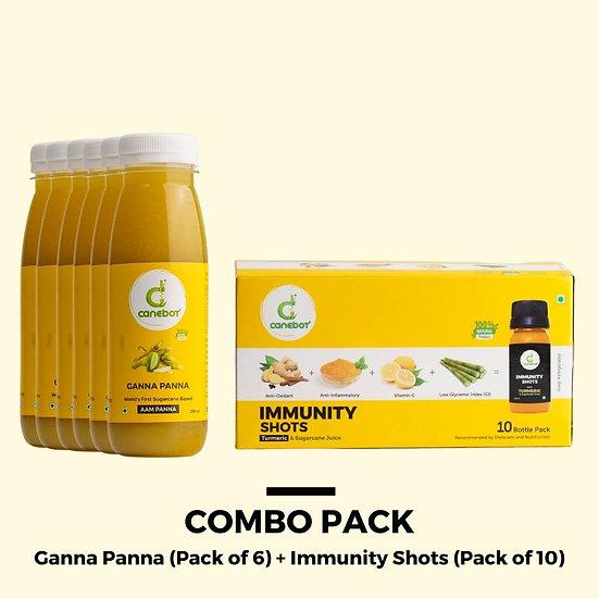 Combo Pack (Ganna Panna + Immunity Shots)