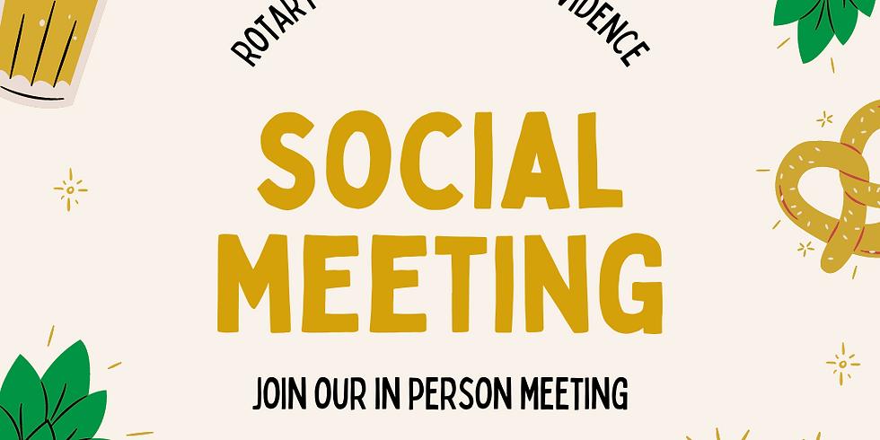 Social Meeting at Narragansett Beer