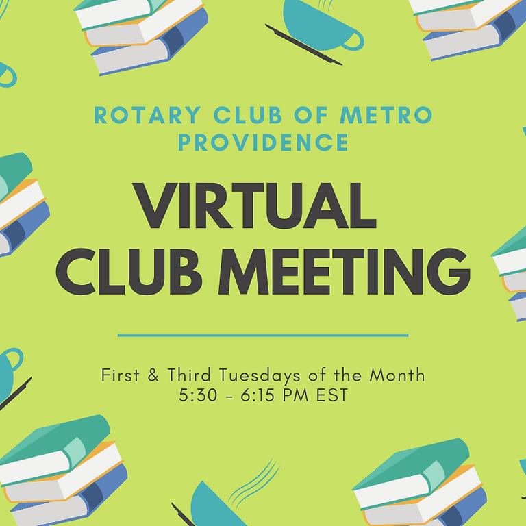 Virtual Club Meeting