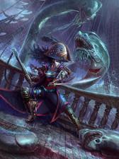 Captain Katarina fights the Great Eels
