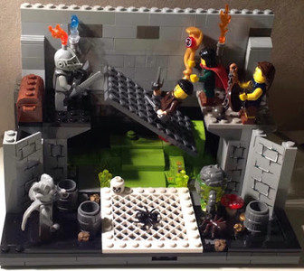 Trial by LEGO, by Lawrence Bowyer