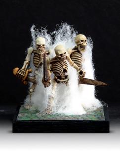 Three Skeletons by Steve Britton