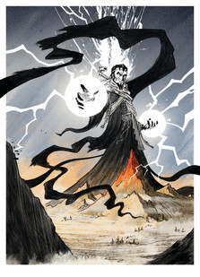 The Warlock of Firetop Mountain by Keith Robinson