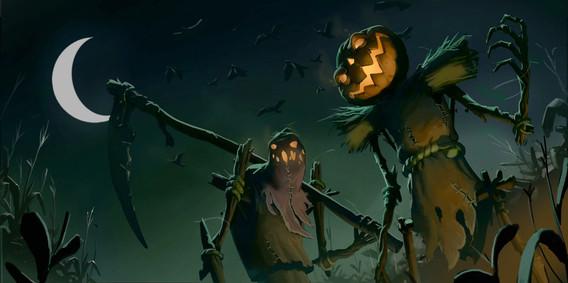 Scarecrows by Morten Skaalvik