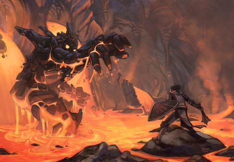 Magma Beast by Spyders