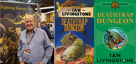 2nd - 3rd June 2018 - Ian Livingstone attending UK Games Expo