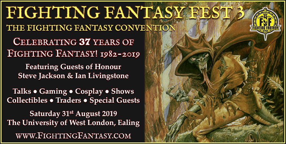 Fighting Fantasy Fest 3 banner - Shapech