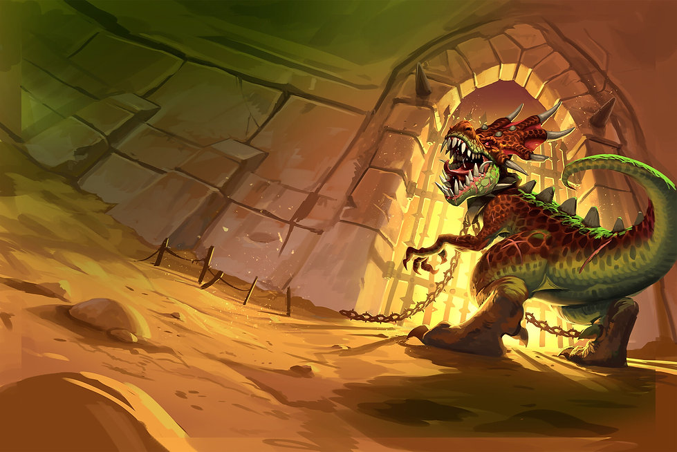 Deathtrap Dungeon Pit Fiend paul-mafayon