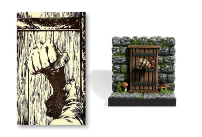 Imitator Door, by Steve Britton