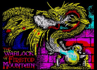 The Warlock of Firetop Mountain pixel art by Andy Green