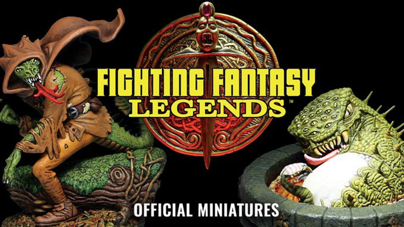 Fighting Fantasy Legends Official Miniat