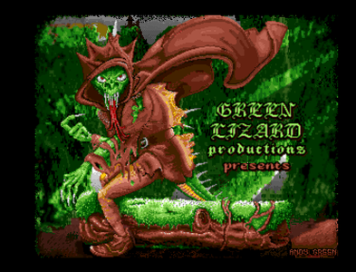 The Forest of Doom Amiga pixel art by Andy Green
