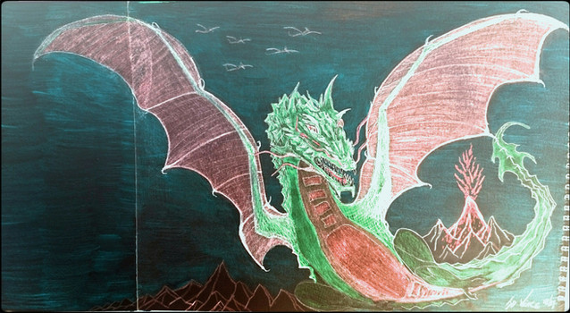 The Dragon of Firetop Mountain by Jason Vince