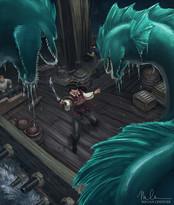 Captain Katarina and the Great Eels by Megan Cheever