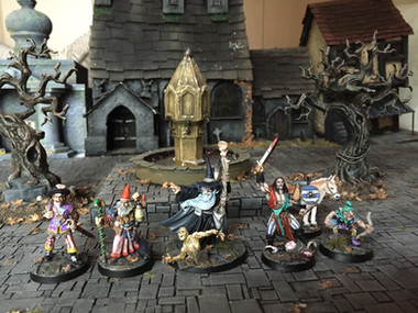 Fighting Fantasy Adventurers, by Stuart Bannister