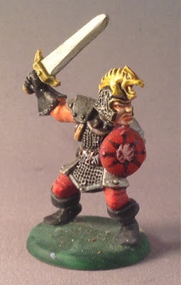 Braxus the Warrior, painted by Peter Armstrong