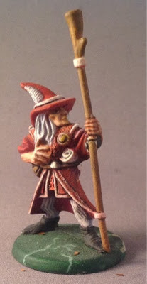 Sallazar the Wizard, painted by Peter Armstrong