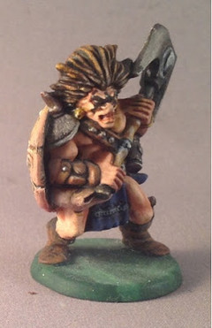 Anvar the Barbarian, painted by Peter Armstrong