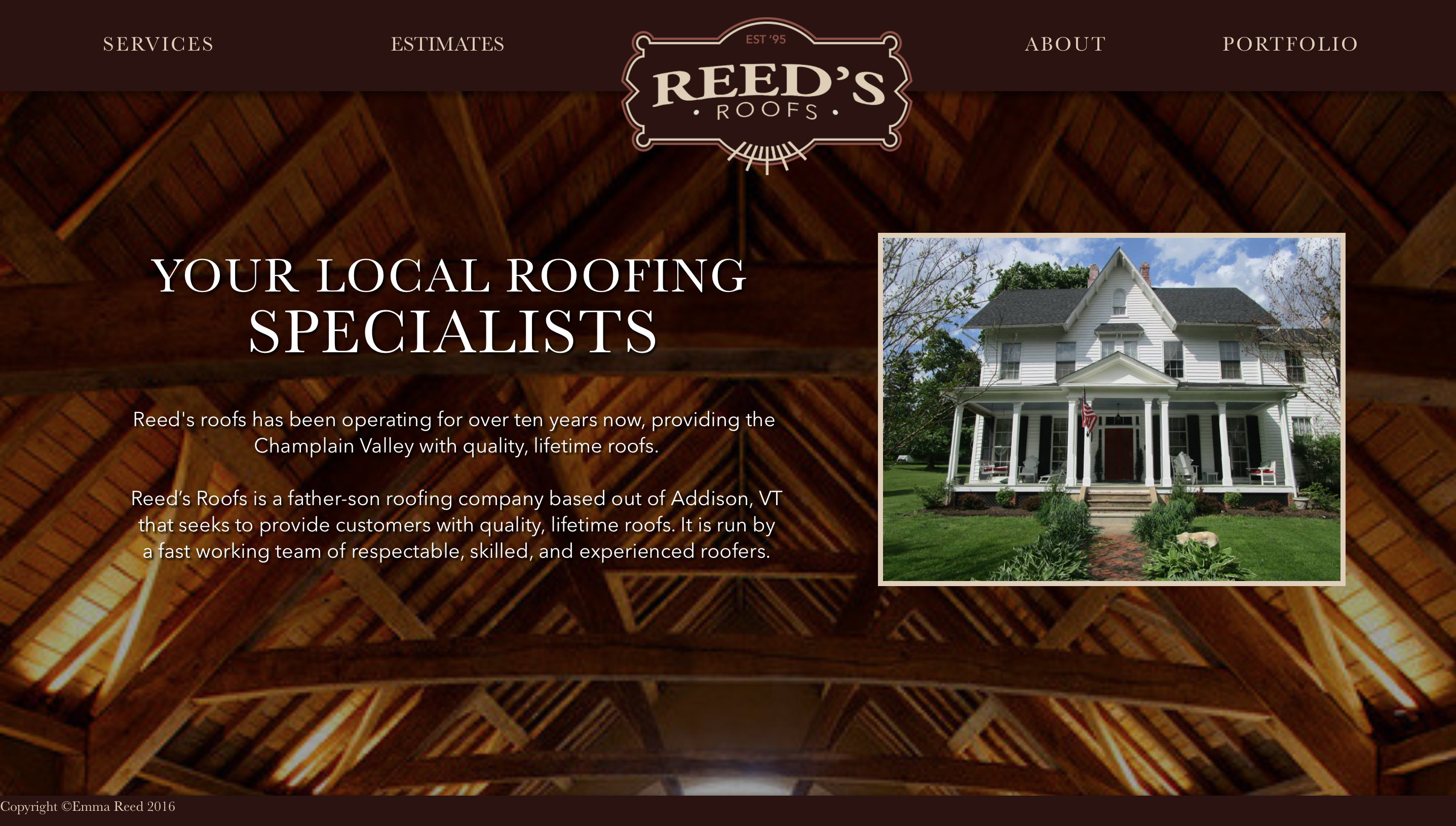 Reed's Roofs Home