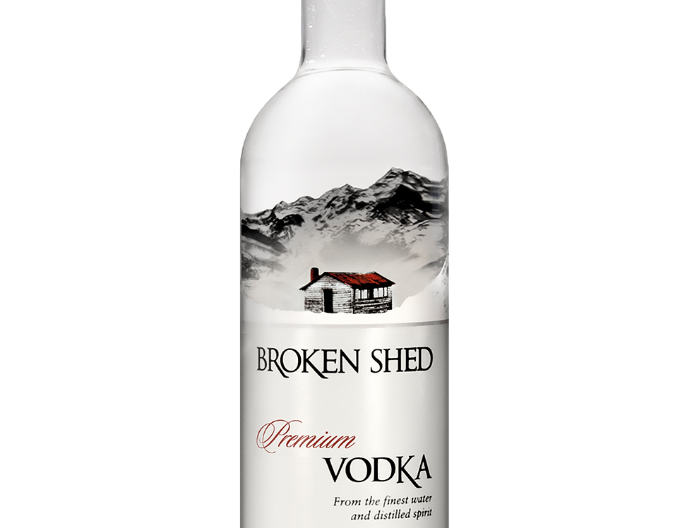 Broken Shed Vodka 40% 750ml