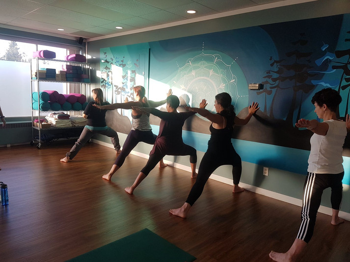 Yoga Class at Yoga PG on 5th