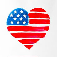 red-blue-heart-shape-painted-usa-flag-is