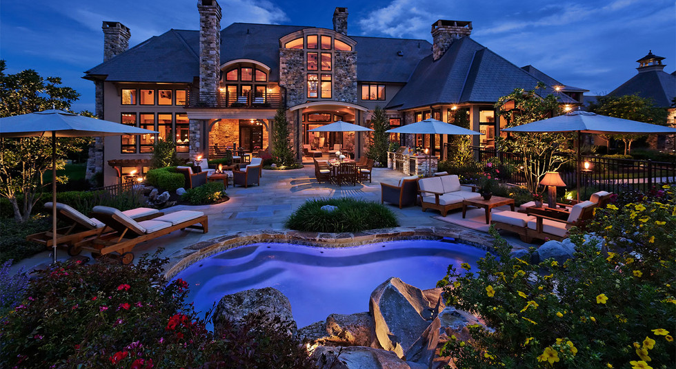 Landscape lighting, extend your homes to