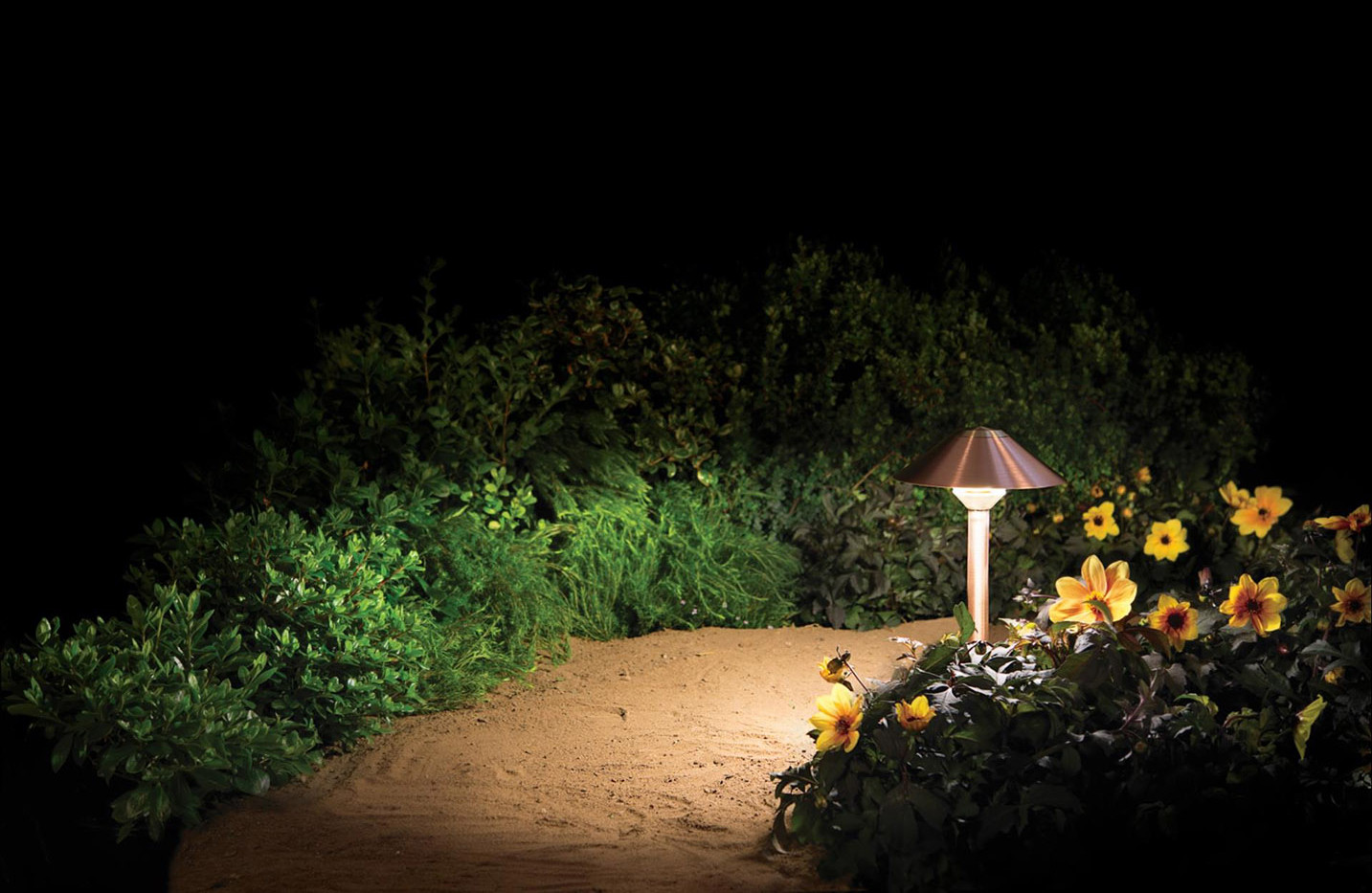 landscape lighting pathlight, built to w