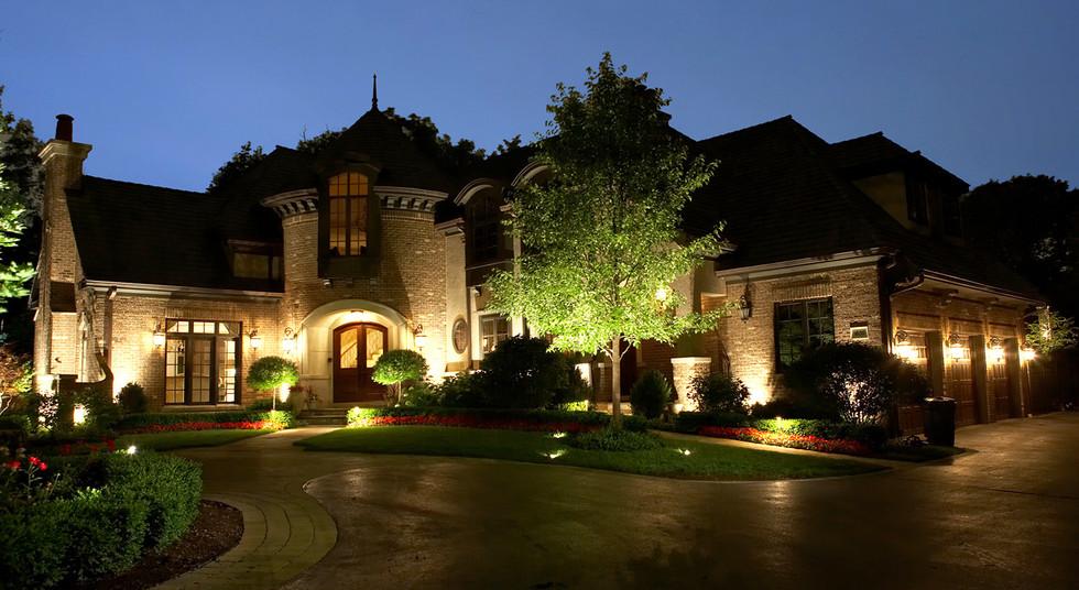 landscape lighting - enhance your homes