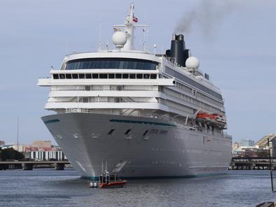 Cruise Ships Set Sail in Boston Harbor Again (8/18/21)