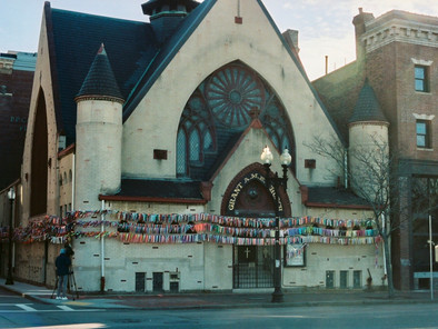 Boston South End Church Uses Ribbons To Remember MA Covid Deaths