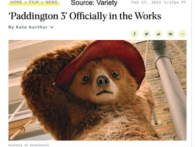 WandaVision Breaks the 4th Wall, Paddington 3 news & the best romance/rom-com movies!