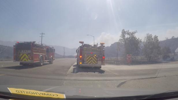 The Canyon Fire 2 - James Rojas, 790 KABC