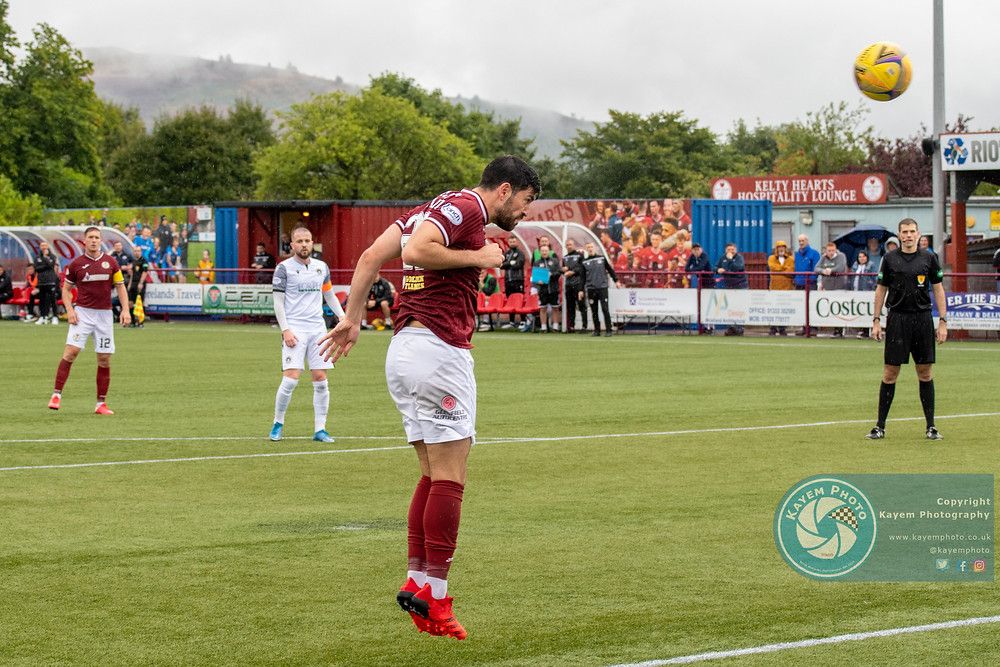 Thomas O'Ware went close for Kelty
