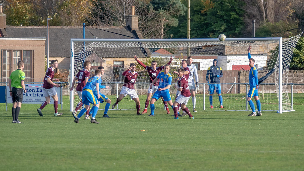 A rare first half chance for Swifts