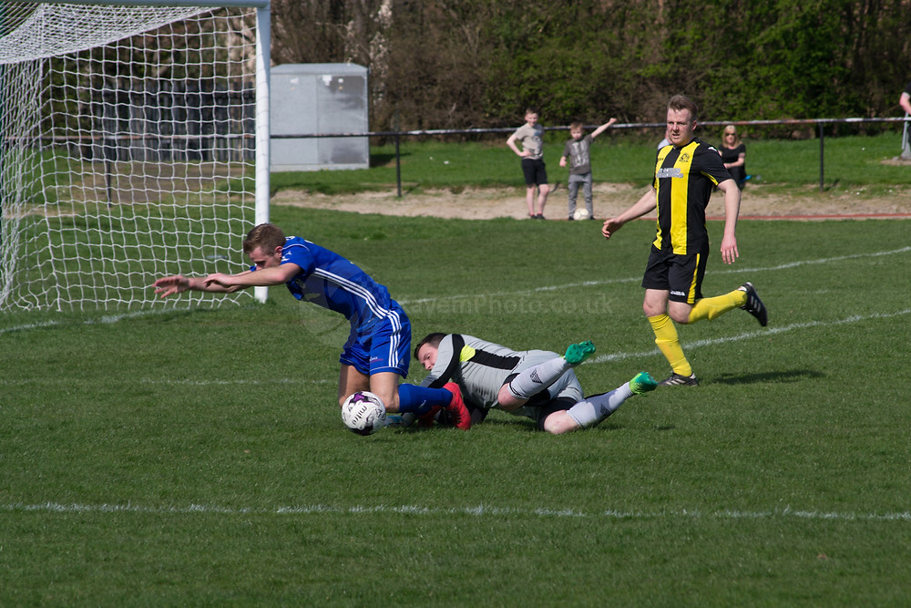 Cargill was fouled for a penalty