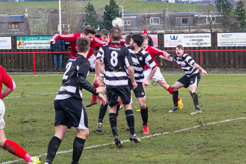 Wright nods home the equaliser for Hill of Beath